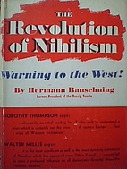 The Revolution of Nihilism: Warning to the…