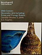 Bonhams & Butterfields Los Angeles; October…