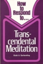 How to Respond to ... Transcendental…