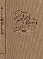 Let's Read German by Elizabeth Miller