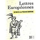 Lettres Européenne - Histoire de la…