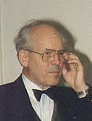 Author photo. Prof. Dr. Eckhart G. Franz, Darmstadt, Leiter des Staatsarchivs Darmstadt