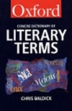 The Concise Oxford Dictionary of Literary…