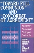 Toward full communion and Concordat of…
