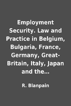 Employment Security. Law and Practice in…