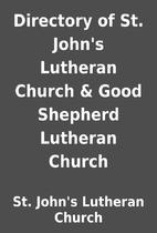 Directory of St. John's Lutheran Church…