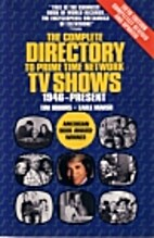 Complete Directory to Prime Time Network TV…