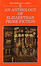 An Anthology of Elizabethan Prose Fiction by…