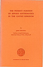 Present Position of Applied Mathematics in…