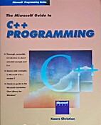 Microsoft Guide to C++ Programming by Kaare…