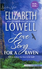 Love Song for a Raven by Elizabeth Lowell