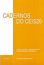 Cadernos do CEIS 20 - nº 8 - 2008 by…