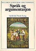 Språk og argumentasjon by Olav Asheim