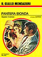 Pantera bionda - Il Giallo Mondadori n. 956…