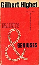 Talents and geniuses; the pleasures of…