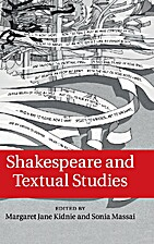 Shakespeare and Textual Studies by Margaret…
