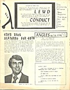 Lewd Conduct (Issue #1) by Jim Kepner