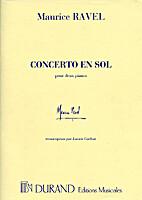 Concerto en sol by Maurice Ravel