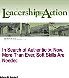 In Search of Authenticity: Now More Than…