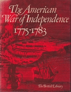 The American War of Independence, 1775-83 by…