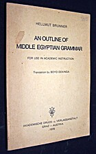 An Outline of Middle Egyptian Grammar for…