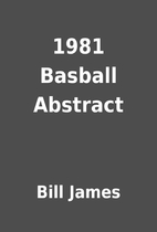 1981 Basball Abstract by Bill James