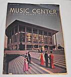 Music Center : a living memorial to peace,…