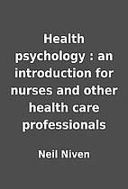 Health psychology : an introduction for…