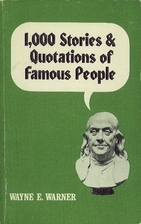 1,000 Stories and Quotations of Famous…