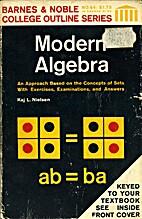Modern algebra by Kaj Leo Nielsen