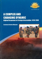 A complex and changing dynamic: Afghan…