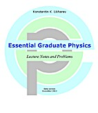 Essential Graduate Physics: Lecture Notes…