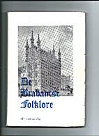 DE BRABANTSE FOLKLORE NUMMER 153 EN 154