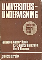 Universitetsundervisning : problem, empiri,…