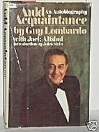 Auld Acquaintance by Guy Lombardo