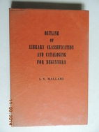 Outline of Library Classification and…