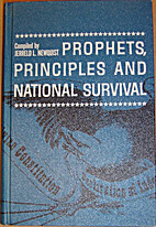 Prophets, Principles and National Survival…