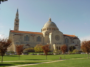 Author photo. Basilica of the National Shrine of the Immaculate Conception, Washington, DC, 2003. Photo by John Workman / Wikipedia.