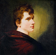 Author photo. Painting by Peter Eduard Ströhling (1805)
