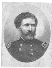 Author photo. Major-General John C. Fremont, etching from a steel plate in possession of Mrs. Fremont.