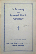 A Dictionary of the Episcopal Church by…