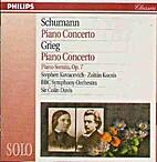 Piano Concertos, Sonata Op.7 by Schumann