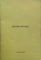 Ritual - Second Degree: Text Book of the…