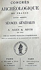 France: 1901, 68e Congrès archéologique de…