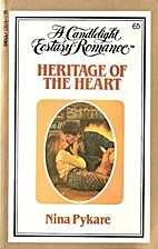 Heritage of the Heart (Candlelight Ecstasy…
