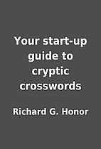 Your start-up guide to cryptic crosswords by…