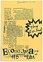 Econo-brand reading #6 by Brendan Mackie