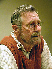 Author photo. Edsger Dijkstra, 2002