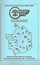 Gwent FHS, journal 66