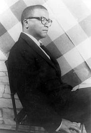Author photo. Carl Van Vechten, 14 Aug 1958